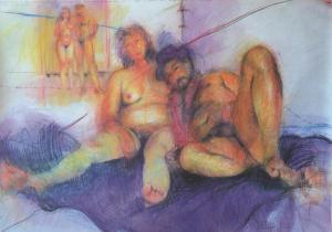 """""""Juntos Yoco y John"""", 2008"""